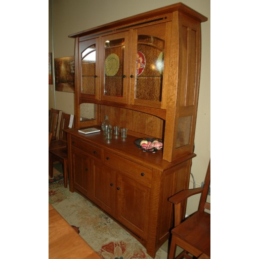 CLOSEOUT - 3 Door Hutch