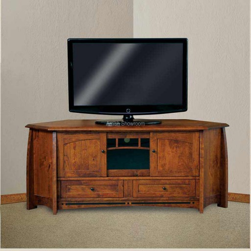 Boulder Creek Corner Media Console FVE-053-BC-BP