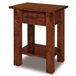 Heidi 1 Drawer Open Nightstand 019