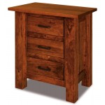 Heidi 3 Drawer Nightstand 021