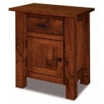 Heidi 1 Drawer 1 Door Nightstand 022