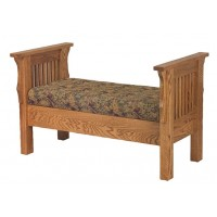 Mission Bed Seat