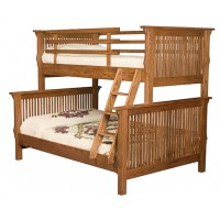 Full-Twin Mission Bunk Bed ITF 071