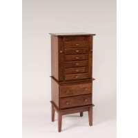 "48"" Split Shaker Jewelry Armoire 121"