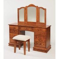 "56"" Deluxe Clockbase Dressing Table 513"