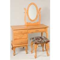 "42"" Queen Anne Dressing Table 610"