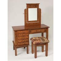 "42"" Mission Jewelry Dressing Table 631"