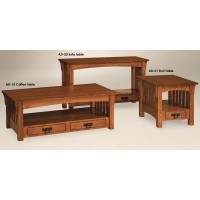 Shown in quarter sawn white oak  Adams series
