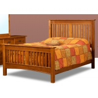 Classic Mission Slat Bed