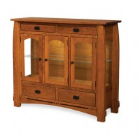 Colebrook High Buffet shown in 3 doors and 4 drawers