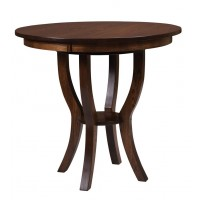 Dillan Bistro Table - Shown in oak wood