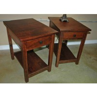 Mission End Tables - Set of 2