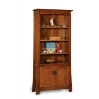 Modesto Bookcase with doors FVB-010-MD