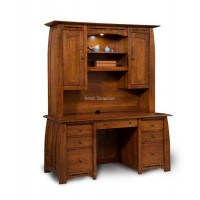 Boulder Creek Hutch Desk FVD-2865HT-BC