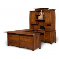 Boulder Creek 4-Piece Desk FVD-9678UHT-BC