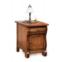 Old Classic Sleigh Enclosed End Table FVET-OCS-EN