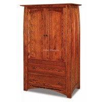 Boulder Creek Armoire 2 Drawers 041
