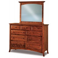 Carlisle 9 Drawer Dresser with optional mirror