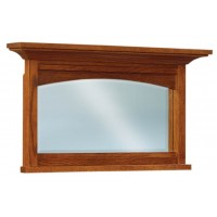 Kascade Beveled Arch His & Hers Chest Mirror 038
