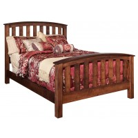 Schwartz Kountry Mission Bed - Amish Built - Solid Wood