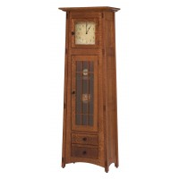McCoy Clock (Glass Panel Door) MC1DRWCLKGL