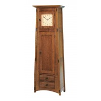 McCoy Clock (Glass Panel Door) MC1DRWCLK