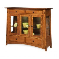 McCoy High Buffet shown in 3 door 4 drawer