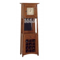 McCoy Wine Rack Clock MCWINECLK