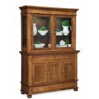 Newport Hutch (Hoosier) 3 DOOR BASE 2 DOOR TOP