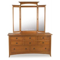 Shaker Hill 8 Drawer Dresser