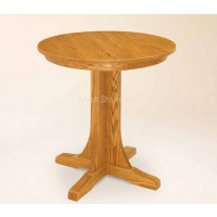 Single Pedestal Pub Table