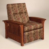 Skyline Slat Chair Recliner 600 SSCR