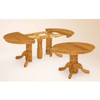 Split Pedestal Table